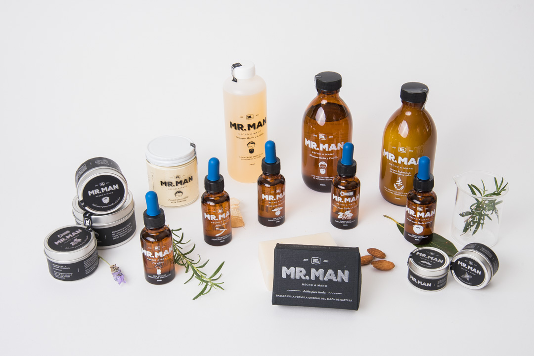 Linea de productos mr man 1